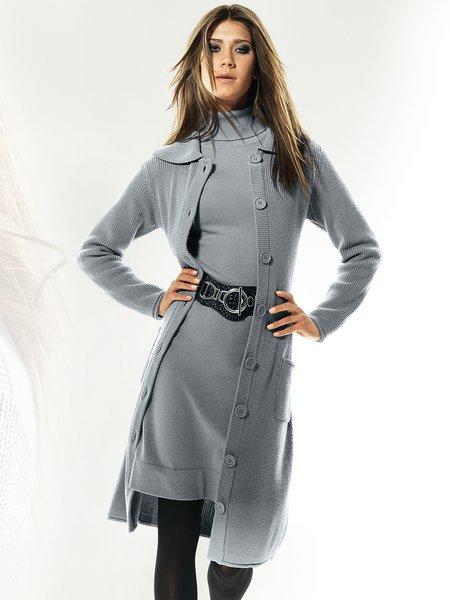 Вязание крючком пальто схемы бесплатно.  Схема 8. Вязаное пальто с.