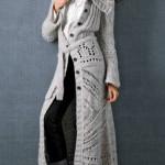 Вязаное пальто-кардиган Вязание.  Татьяна,здравствуйте! совсем не.