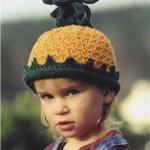 Чудесные шапочки с описанием.  Вязаные шапки для детей от 3-х лет...