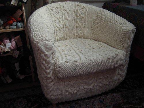 Просмотр > Главная / Для дома, креатив, уют / Вязаные кресла