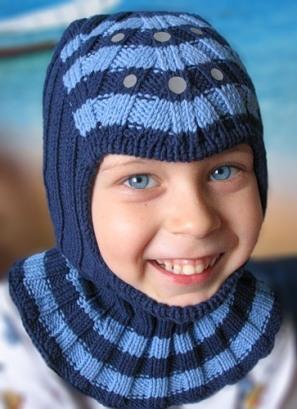 29.03.2009 Шапка-шлем на весну.  Пряжа ALPINA (Lexi) 45% хлопок 55...