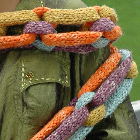 круговой шарф своими руками схема - Выкройки одежды для детей и...