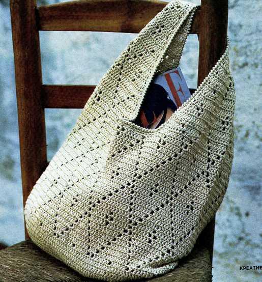 летние сумки крючком (25 фотографии.
