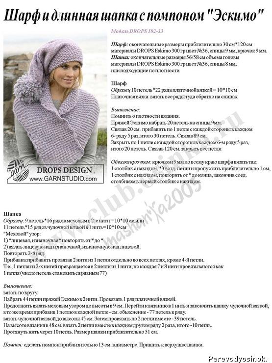 Модели вязаных шапок крючком с описанием и схемами