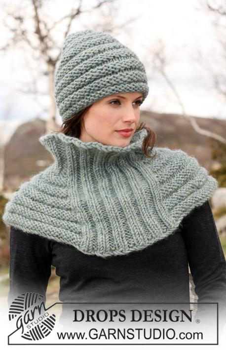 Вяжем спицами шарфы модели с описанием.