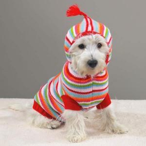вязание спицами для маленьких собак.