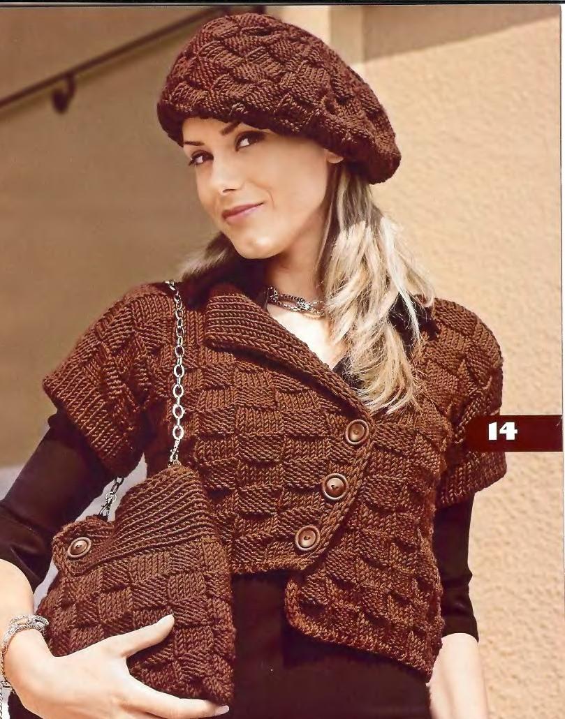 вязание для пожилых женщин спицами