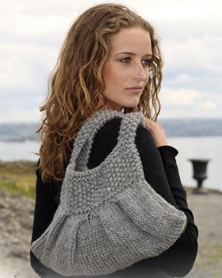 Румочка, вязаная сумочка, вязание спицами, вязание крючком.