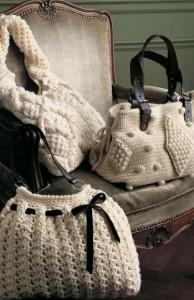 Вязание крючком сумки летние. вязанные сумки крючком.