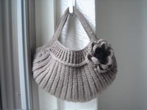 Вязание на спицах и крючке/Вязанные сумки.  Сохранили.