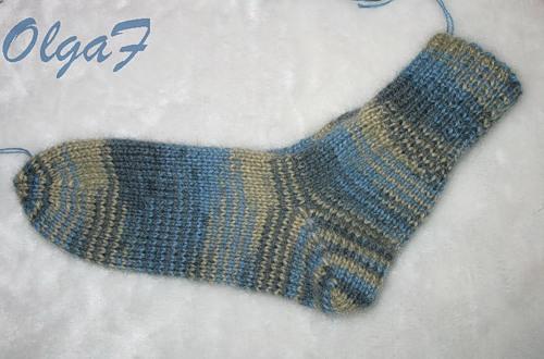 Мастер-класс Вязание крючком: Носки связанные крючком