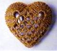 вязание сердца