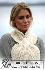 Лёгкие шарфы и палантины.  Шали и накидки (1). Журнал Ondori (шали, шарфы...