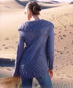 жакет вязание