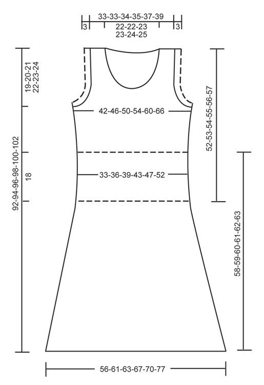 Выкройка платья с длинным рукавом для девочки.  Выкройка из журнала.