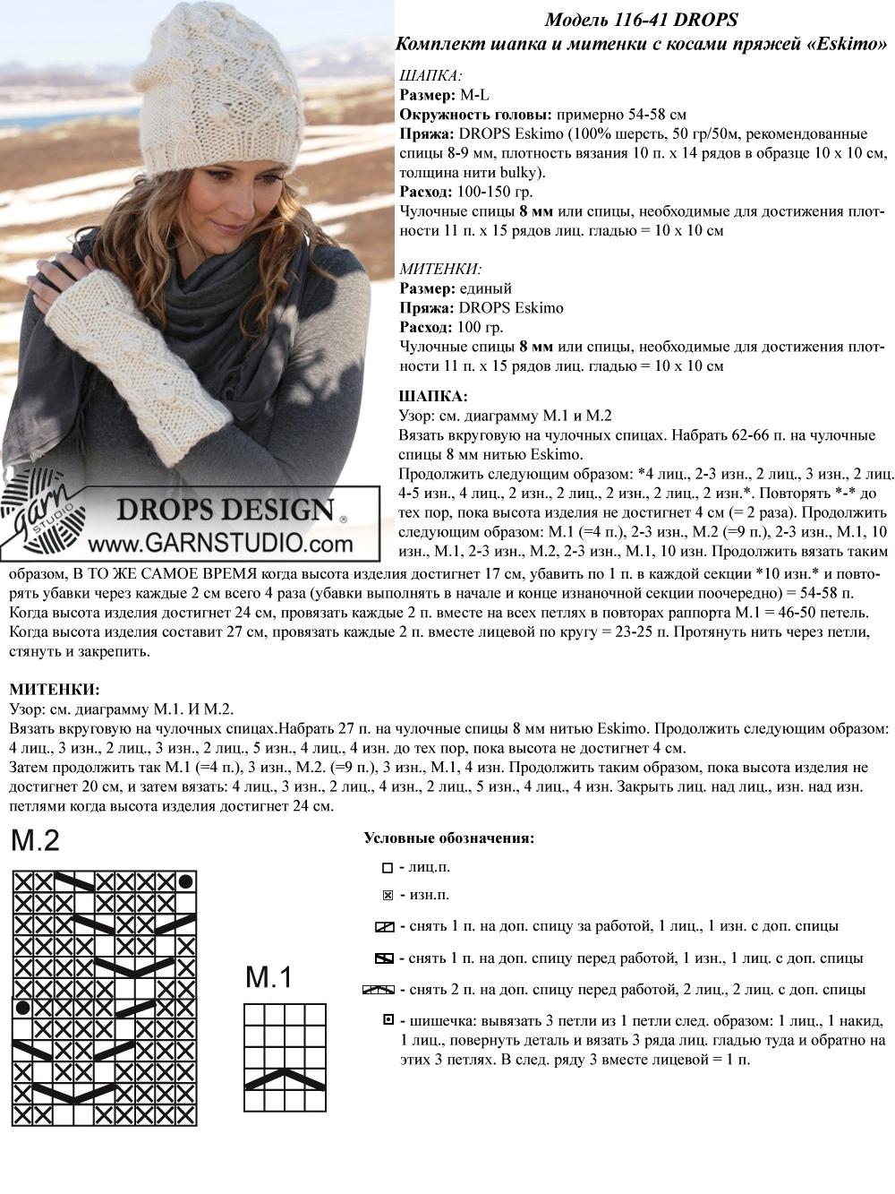 Схемы для вязания для шапок на спицах