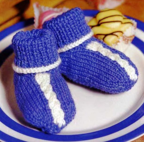 Описание: Вязание пинеток спицами (модели с... Автор: Рина.