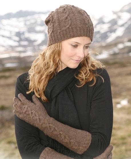 вязаные шапки спицами для женщин.