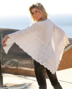 шаль вязание