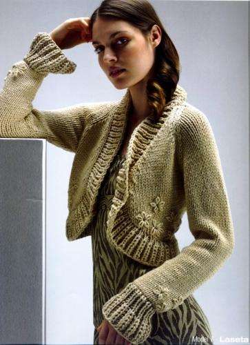 Описание: вязание спицами кофточки для девочки года.