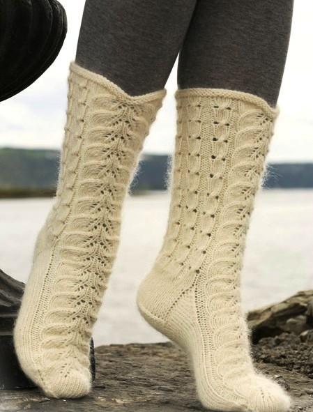 вязание носков спицами спицами на knitka