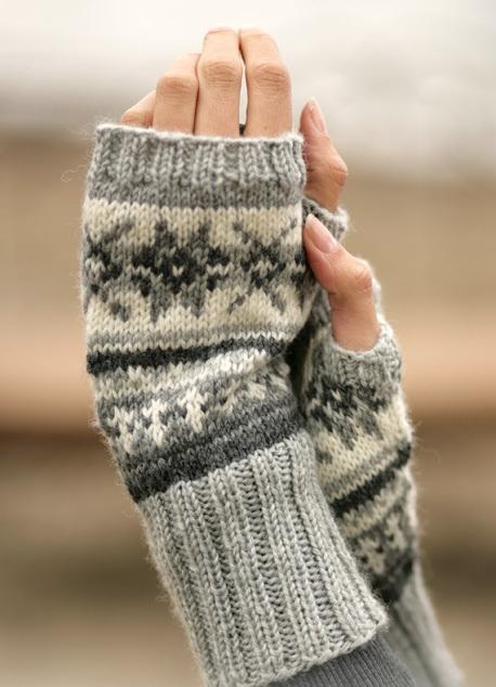вязаные рукавицы, Выкройки пижамы
