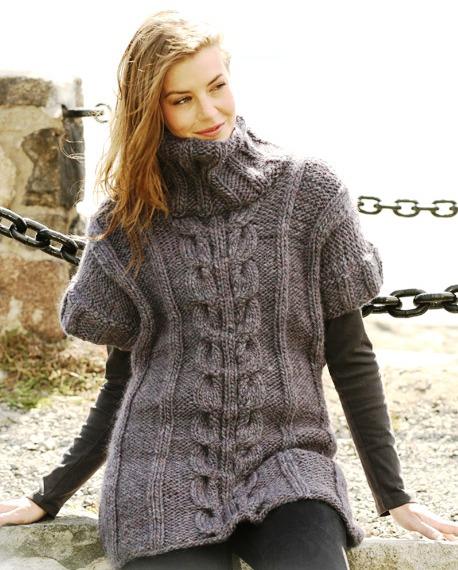 Бесплатные модели и схемы вязания крючком и спицами для женщин.