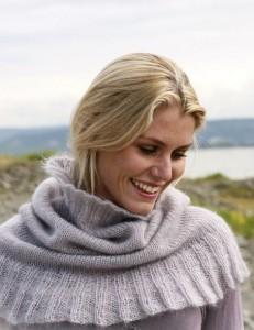 вязание шарф