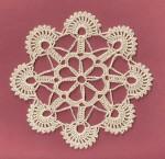 вязание салфетка