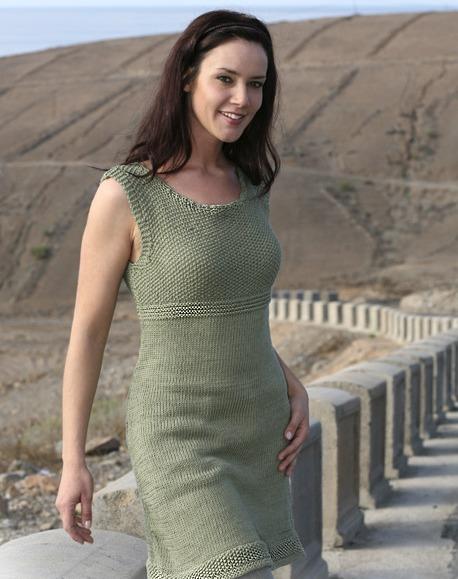 Вязание спицами платья - Все о моде