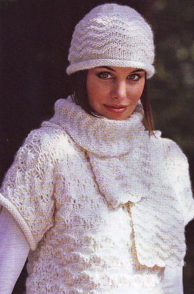 Салон модная...  Женские прически 2010.  Посты похожие на Вязание на спицах шапки шарфы.