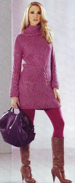 Фото вязанные платья