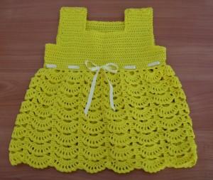 вязание сарафан
