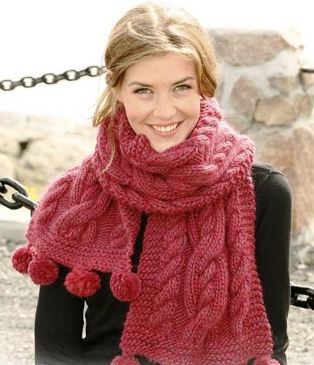 схема вязания спицами шарфа с цветами. схема вязания кофты для девочки...