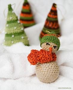 Игрушка Вязание крючком: вязанные игрушки Нитки.  Фото, вязаные.