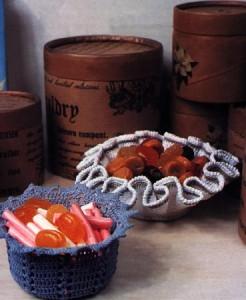 вязание вазочки
