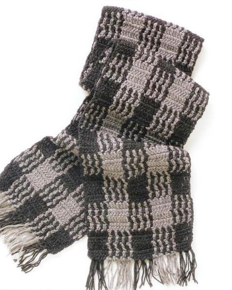 Для вязания шарфа Вам