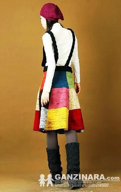 Идеи для вязания юбок подборка
