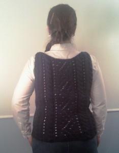 вязание жилет
