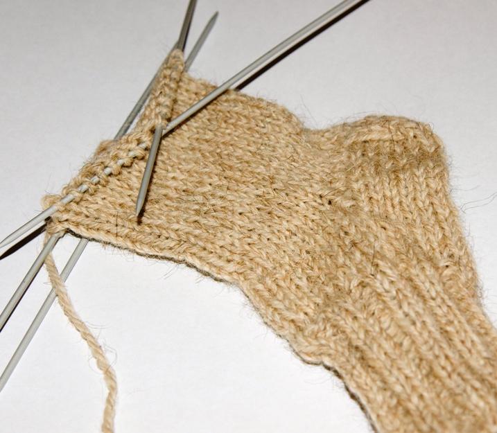 Вязание носков своими руками
