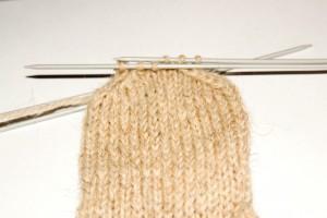 вязание носков закрытие петель