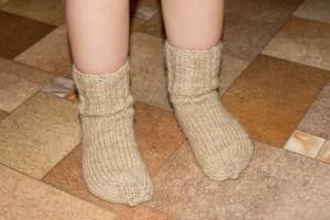 вязание носков для начинающих