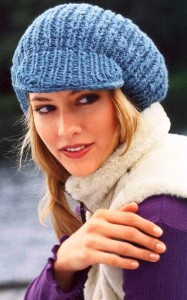 вязание кепи