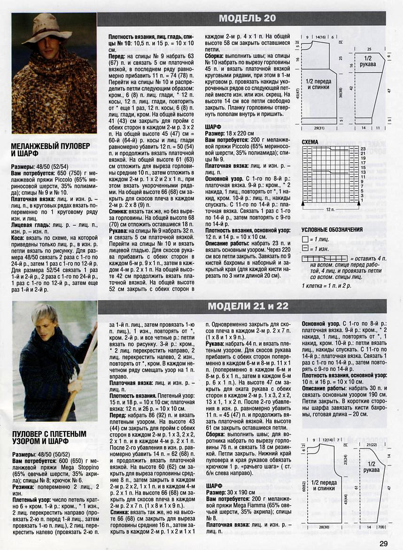 описание и схема вязания розовых носочков.