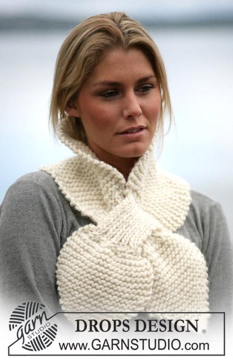 вязаные шарфы<br />