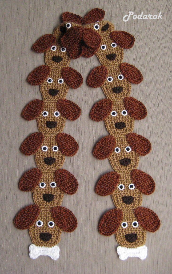 Вязание шарфа спицами для детей до 1 года