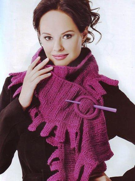Images for шарф вязание спицами. вязание шарфа, шарф на спицах,узоры.