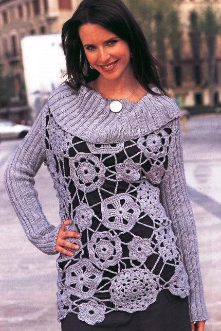 вязание кофт: махровая
