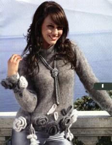 модели пуловера гармонично