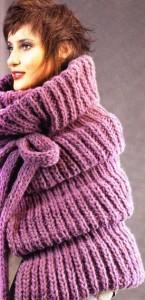 вязание накидка